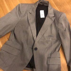 Express heather gray blazer